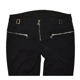 Dondup-Pants, leggings-Black