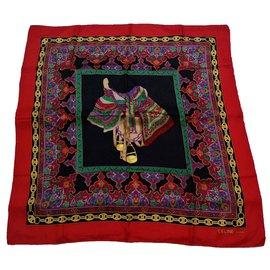 Céline-Silk scarves-Multiple colors