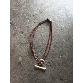 Hermès-Necklaces-Dark brown