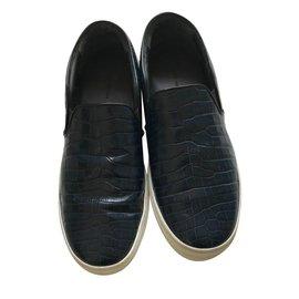 Céline-Slippers Celine-Bleu Marine
