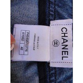 Chanel-Jean Slim  CHANEL-Bleu