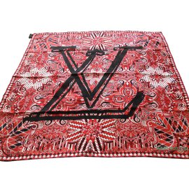 Louis Vuitton-Le bandana-Rouge