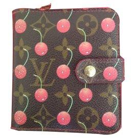 Louis Vuitton-Portefeuilles-Marron ... 011551ba168