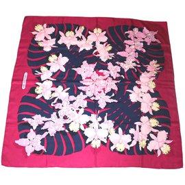 Hermès-Les orchidées-Rose
