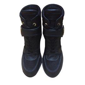 Louis Vuitton-Sneaker boot-Noir