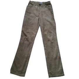 Roberto Cavalli-Pants, leggings-Yellow