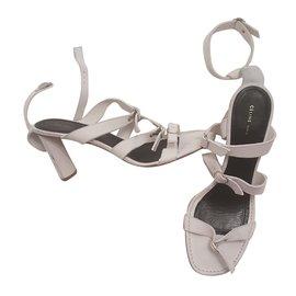 Céline-Sandals-White