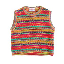 Missoni-Pulls, gilets fille-Multicolore