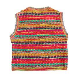 Missoni-Pulls, gilets fille-Multicolore