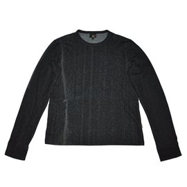 Just Cavalli-Pulls, gilets homme-gris anthracite