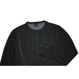 Just Cavalli-Sweaters-Dark grey