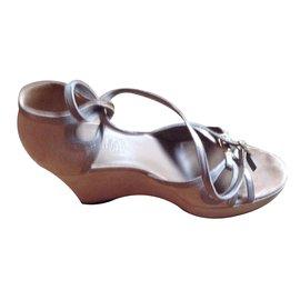 Hermès-Sandals-Beige