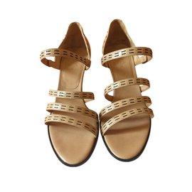 Hermès-Envy Sandals-Beige