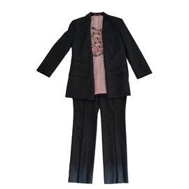 Gucci-Tailleur pantalon-Gris