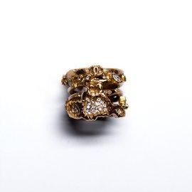 Chanel-bague importante CHANNEL anneau ajouré-Cuivre