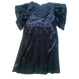 See by Chloé-Dresses-Navy blue