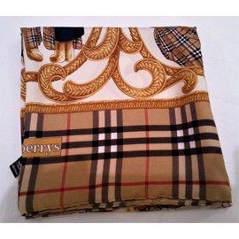 Burberry-Silk scarves-Multiple colors