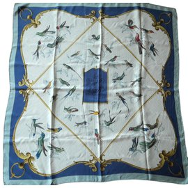 Hermès-La Volière des Dames-Bleu ... c1a779e41d9