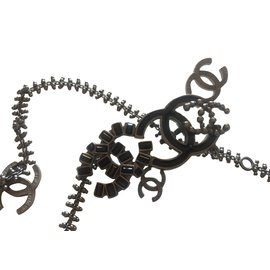 Chanel-Sautoir chanel-Noir
