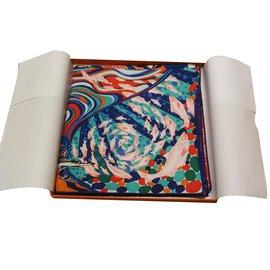 Hermès-Hermès carré-Multicolore