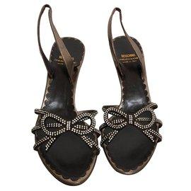 Moschino Cheap And Chic-Sandals-Bronze