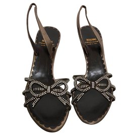 Moschino Cheap And Chic-Sandales-Bronze