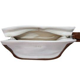 Hermès-Pochette CAMAIL - PM coloris blanc-Blanc