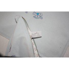 Hermès-Pochettes ADADA PM et GM-Bleu