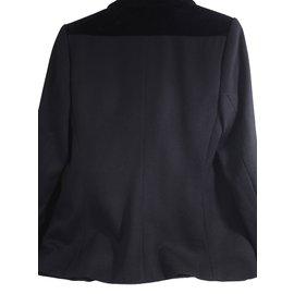 Yves Saint Laurent-Velours-Noir