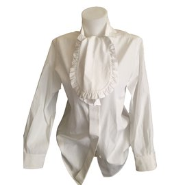 Yves Saint Laurent-Tops-Blanc