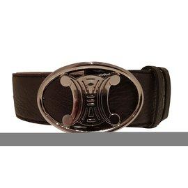 Céline-Belts-Dark brown