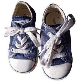 Converse-Baskets enfant-Bleu Marine