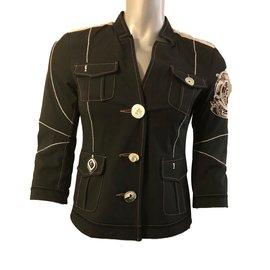 Elisa cavaletti-Jackets-Black