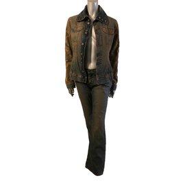 Dolce & Gabbana-Veste et jeans-Kaki