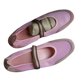 Gucci-chaussures plates-Rose