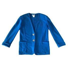 Hermès-Veste Hermès-Bleu