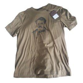 Louis Vuitton-Tee shirts-Kaki