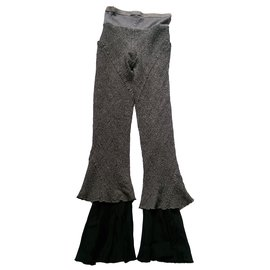Rick Owens-Pantalons-Noir,Gris