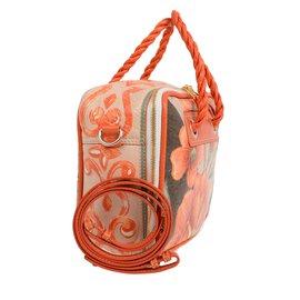 Balenciaga-sac imprimé floral Balenciaga-Orange