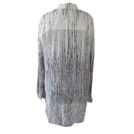 Balenciaga-Tuniques-Noir,Blanc