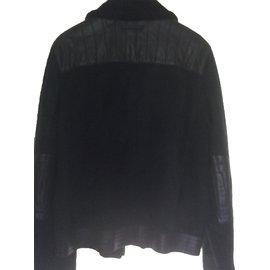 Prada-Blouson aviateur-Noir