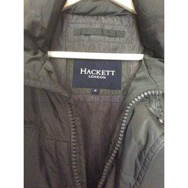 Hackett London-Blouson long-Vert