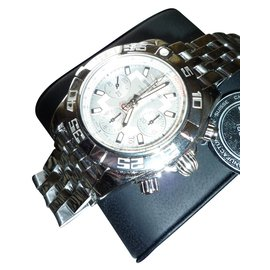 Breitling-Automatikuhren-Silber