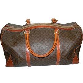 Céline-Weekend bag-Dark brown