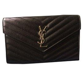 1a1d74e4c6 Yves Saint Laurent-Clutch bags-Black ...