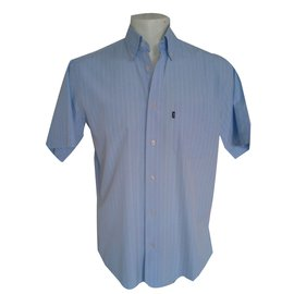 Autre Marque-Magnifique chemise manches courtes-Bleu
