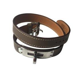 Hermès-Bracelets-Taupe