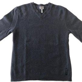Armani Jeans-Pulls, Gilets-Bleu
