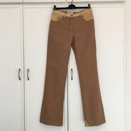 Chanel-Jeans-Beige