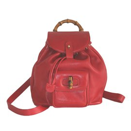 Gucci-Bamboo-Red